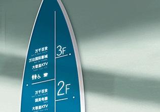 漳州万达广场导示系统设计