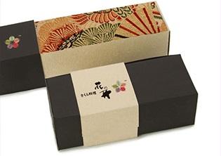 花开日本料理包装设计