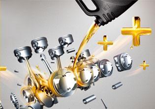 统一润滑油品牌形象海报
