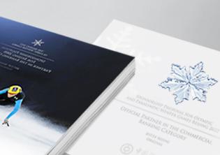中国银行冬奥会标书设计